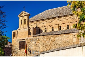 Synagogue of El Transito in Toledo, Spain. Now it is a museum