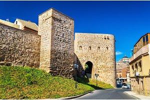 Defensive walls in Toledo, Spain