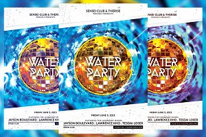 Water Party Flyer