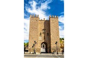 Alcantara Gate in Toledo, Spain