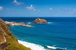 Amazing nature landscape in Madeira