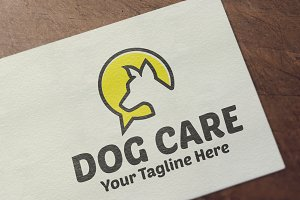 Dog Care Logo Template