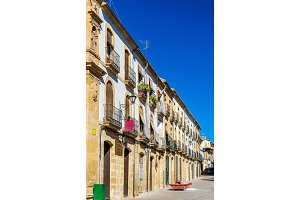 Buildings in the old town of Ubeda, Spain