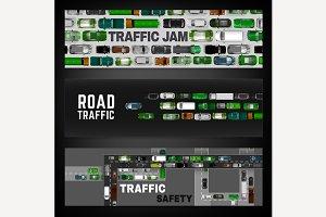 City Traffic Banner