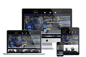 AT Police – Police Website Template