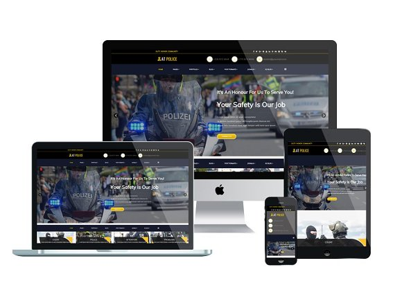 AT Police Police Website Template