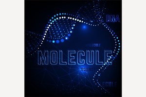 Molecule Background Image