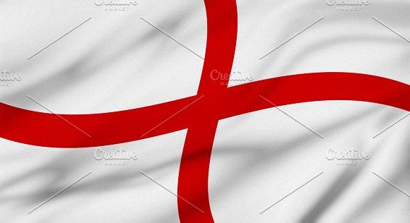 England Flag Background