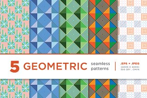 5 Geometric seamless pattern 02
