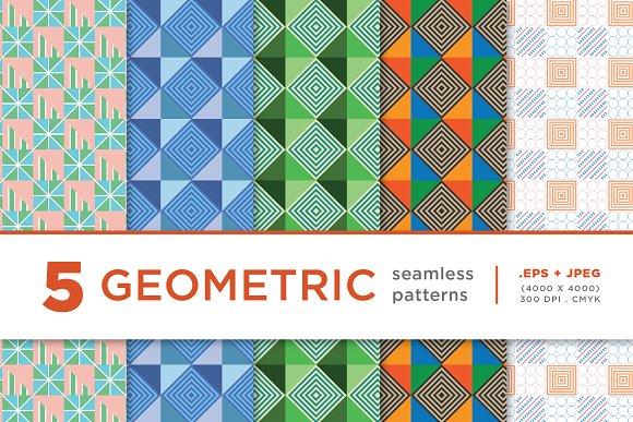 5 Geometric Seamless Pattern 02
