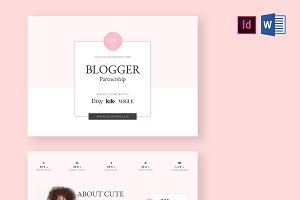 Blogger Proposal Template