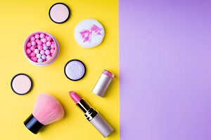Makeup products and cosmetics