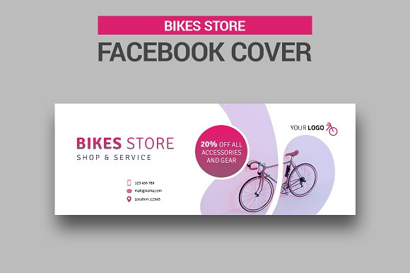 Bicycle Sales Facebook Cover