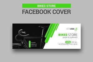 Bike Store Facebook Cover