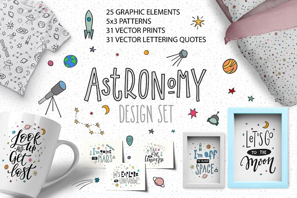 Astronomy Design Set
