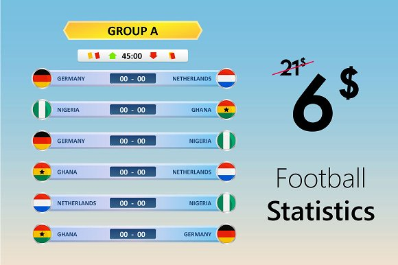 Football Statistics 6$