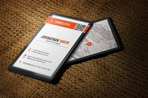 Creative Corporate Business Card 23