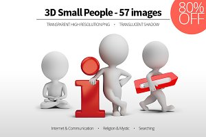 3D Small People - Set 10