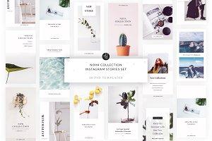 Nova Collection Instagram Stories