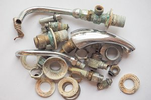 Used plumbing system