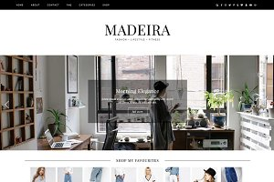 "Wordpress Theme ""Madeira"""