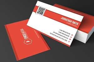 Creative Corporate Business Card 28