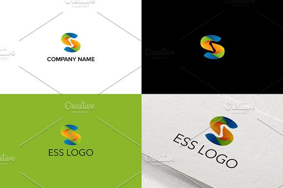 3D Logo Design For Letter S