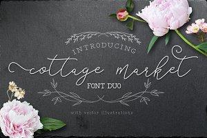 Cottage Market Font Duo