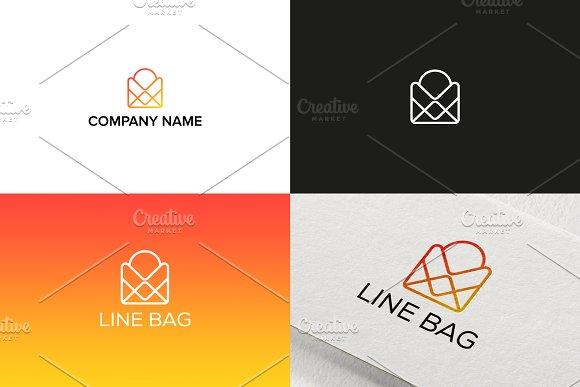 Line Bag Logo Design