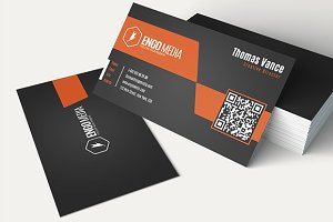 Creative Corporate Business Card 30