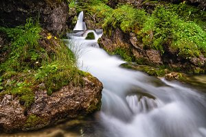 small stream in Val di Fassa
