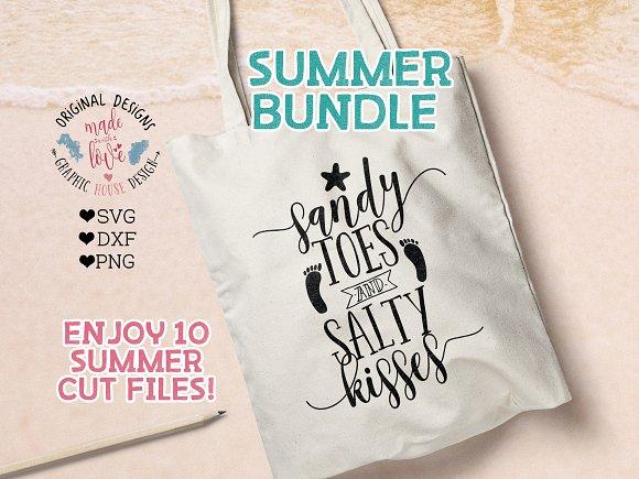 Summer Bundle Cut Files