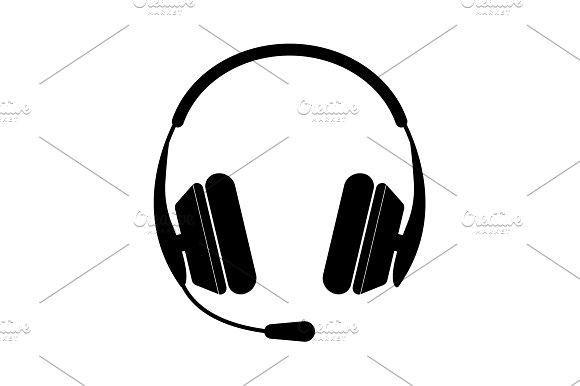 Headphone Icon Vector Illustration