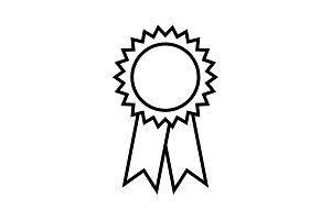award line icon. vector illustration