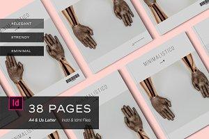 Magazine Template - Minimalistico