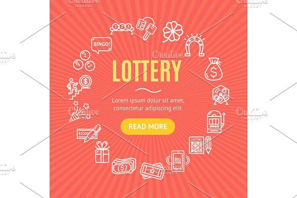 Lotto Signs Round Design