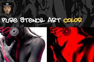 Pure Stencil Art Vol.2 - Color