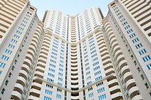 Modern apartment buildings, Kiev