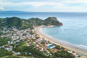 San juan del sur town in Nicaragua