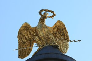 Glory Monument. Poltava. Ukraine