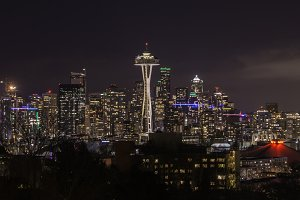 Emerald City with Space Needle