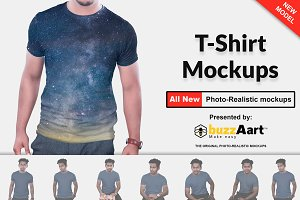 Mens Tshirt Mockup Vol-1.2