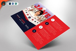 Political Flyer Template 5