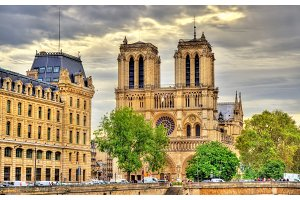 Notre-Dame Cathedral in Paris - France