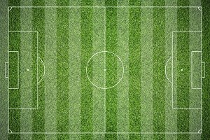 Soccer field texture background