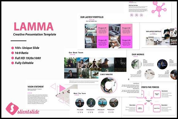 Lamma Business Presentation Template