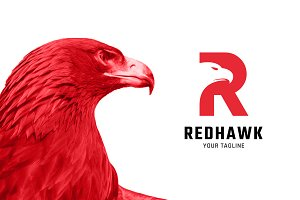 RedHawk (R + Eagle) PSD Template - Download Free T-shirt Mockups