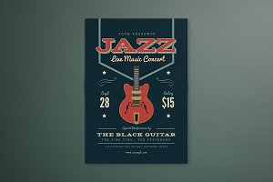 Music Jazz Flyer/ Poster