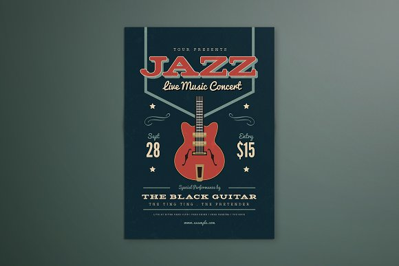 Music Jazz Flyer Poster