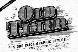 Old Timer Vintage Graphic Styles